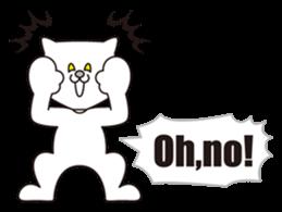 Costume of the cat -English1- sticker #4490302