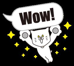 Costume of the cat -English1- sticker #4490312