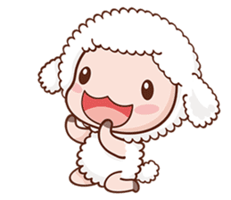 Happy Lucky Sheep sticker #4494809