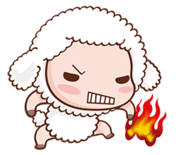 Happy Lucky Sheep sticker #4494810