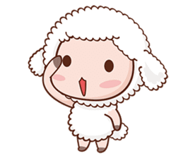 Happy Lucky Sheep sticker #4494811