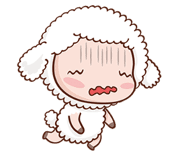 Happy Lucky Sheep sticker #4494812