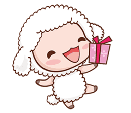Happy Lucky Sheep sticker #4494813