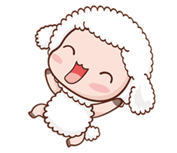 Happy Lucky Sheep sticker #4494814