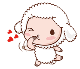 Happy Lucky Sheep sticker #4494816