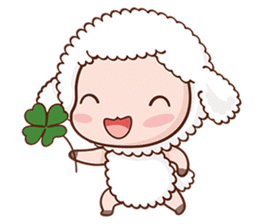 Happy Lucky Sheep sticker #4494817