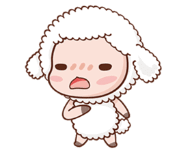Happy Lucky Sheep sticker #4494820