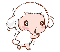 Happy Lucky Sheep sticker #4494824