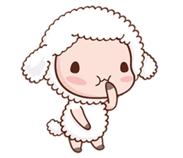 Happy Lucky Sheep sticker #4494826