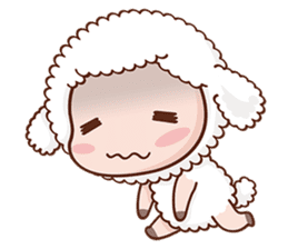 Happy Lucky Sheep sticker #4494827