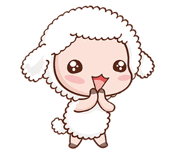 Happy Lucky Sheep sticker #4494828