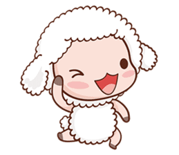 Happy Lucky Sheep sticker #4494829