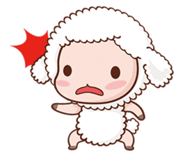 Happy Lucky Sheep sticker #4494830