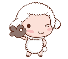 Happy Lucky Sheep sticker #4494832