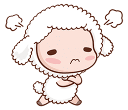 Happy Lucky Sheep sticker #4494833