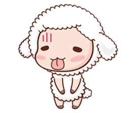 Happy Lucky Sheep sticker #4494834