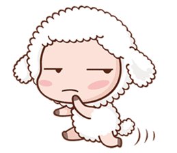 Happy Lucky Sheep sticker #4494835