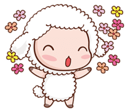 Happy Lucky Sheep sticker #4494838