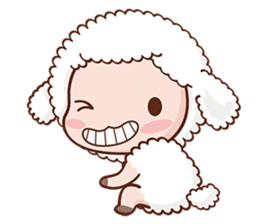 Happy Lucky Sheep sticker #4494839