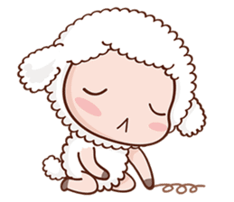 Happy Lucky Sheep sticker #4494841