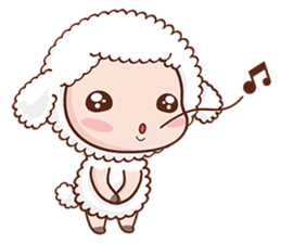 Happy Lucky Sheep sticker #4494843