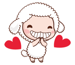 Happy Lucky Sheep sticker #4494847