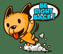 Moka the Corgi sticker #4495413