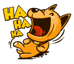 Moka the Corgi sticker #4495414