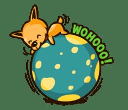 Moka the Corgi sticker #4495418
