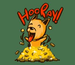 Moka the Corgi sticker #4495430