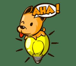 Moka the Corgi sticker #4495435