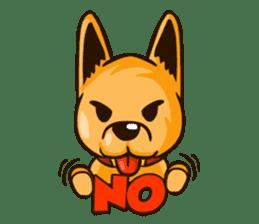 Moka the Corgi sticker #4495437