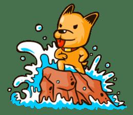Moka the Corgi sticker #4495439