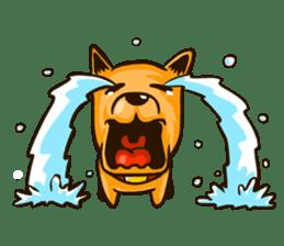 Moka the Corgi sticker #4495440