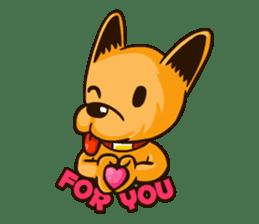 Moka the Corgi sticker #4495444