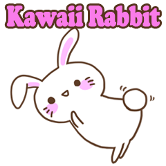Kawaii Rabbit Sticker