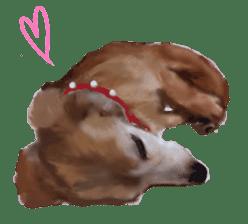 real DOG Sticker sticker #4503295