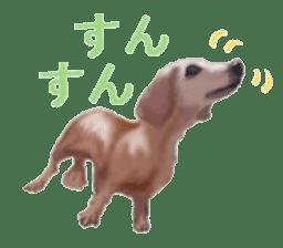 real DOG Sticker sticker #4503308