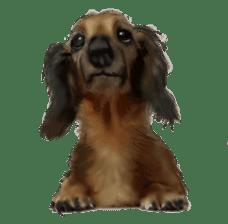 real DOG Sticker sticker #4503321