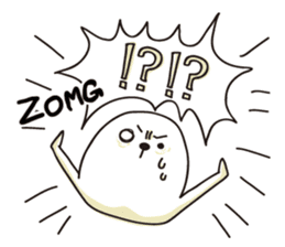 Emotional TAPIOCA (English) sticker #4506303