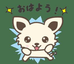 "chihuahua ""kawaii"" stamp sticker #4506808"