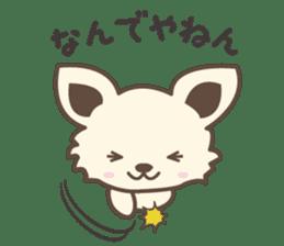 "chihuahua ""kawaii"" stamp sticker #4506812"