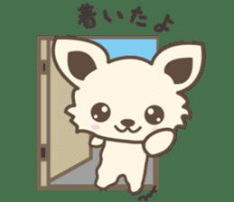 "chihuahua ""kawaii"" stamp sticker #4506813"