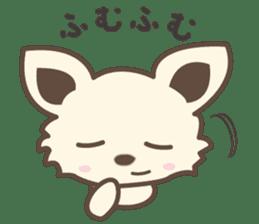 "chihuahua ""kawaii"" stamp sticker #4506814"