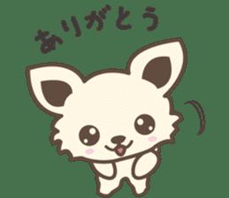 "chihuahua ""kawaii"" stamp sticker #4506815"