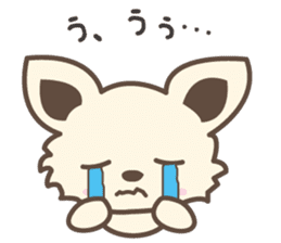 "chihuahua ""kawaii"" stamp sticker #4506816"