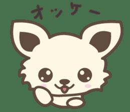 "chihuahua ""kawaii"" stamp sticker #4506817"