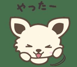 "chihuahua ""kawaii"" stamp sticker #4506818"
