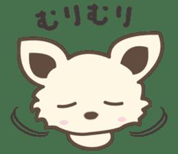 "chihuahua ""kawaii"" stamp sticker #4506820"