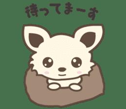 "chihuahua ""kawaii"" stamp sticker #4506821"
